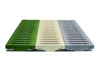 Coloured FIBRETEC® gratings for RECYFIX®PRO 100